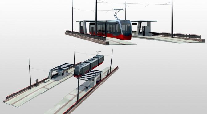 Concept d'une «station courte» tramway