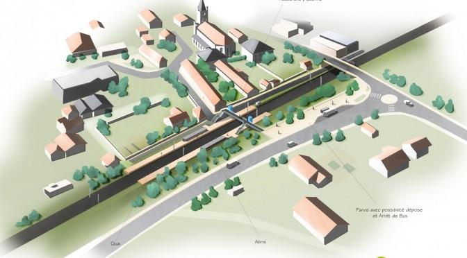 Projet de Halte a St Chamond